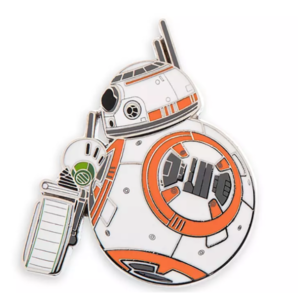 BB-8 and D-O Star Wars: The Rise of Skywalker pin