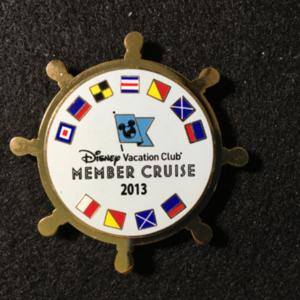 DCL DVC Member Cruise 2013 Lanyard Medallion  pin