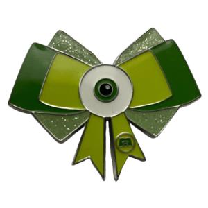 Loungefly Mike Wazowski Bow - Disney Pixar Bows Blind Box pin
