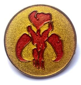 Mandalorian Symbol pin