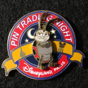DLP Pin Trading Night Francis pin