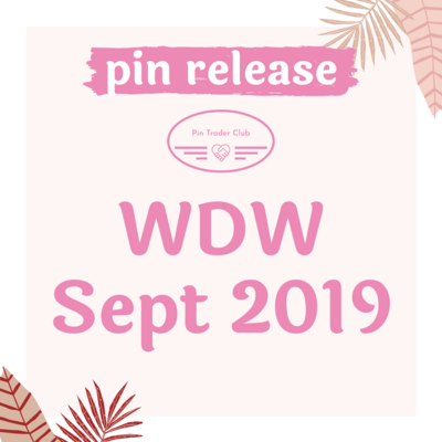 WDW September pin releases