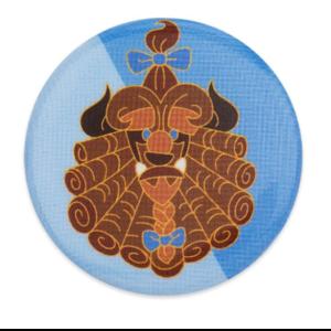 Beast badge/button pin