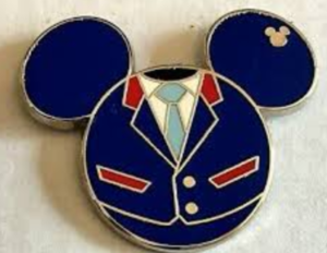 Soarin' - Hidden Mickey Epcot Cast Costumes pin