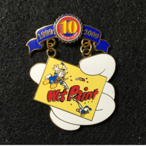 Pin Trading 10th Anniversary Tribute Wet Paint  pin