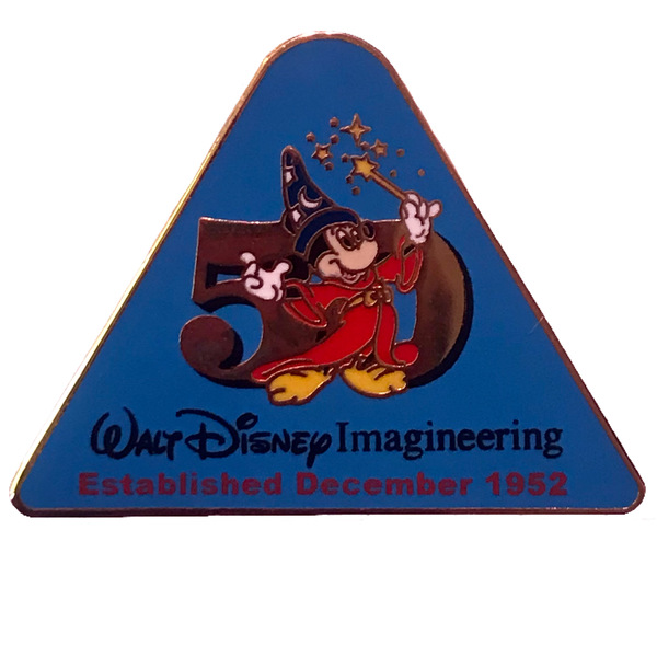 WDI - Cast Exclusive - Walt Disney Imagineering 50th Anniversary引脚