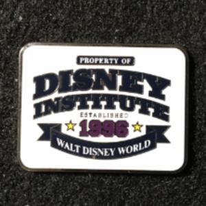 Disney Institute 1996 logo  pin
