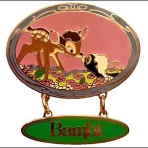 Mickey and Pals: Sweet Kiss Dangle Series - Bambi pin