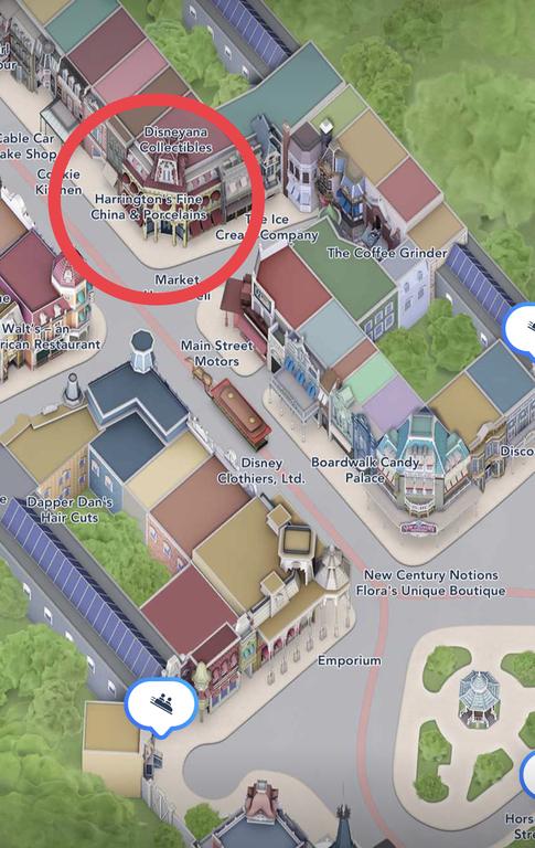 Harrington's location