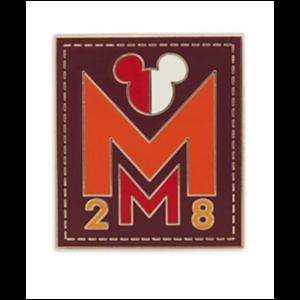 MM 28 1970s pin