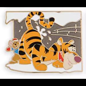 Tigger and Roo Holiday Countdown Calendar pin