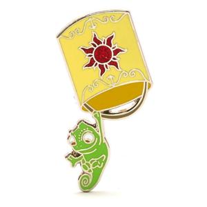 Pascal with floating lantern - Disney Store Tangled pin set pin