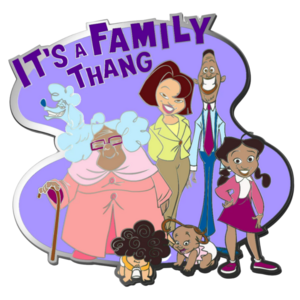 The Proud Family 20th Anniversary Pin - D23-Exclusive pin