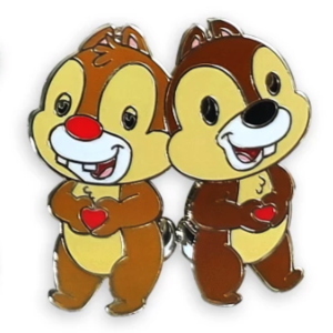 Chip n Dale - Mickey Mouse and Friends Cuties Pin Set pin