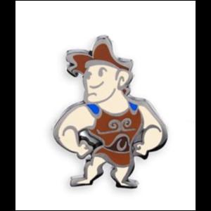 Hercules - Cute Stylized Mystery pin