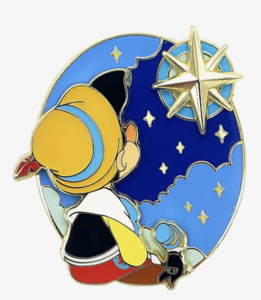 Disney Pinocchio Wish Layered Enamel Pin pin