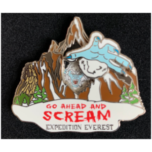 Expedition Everest 3D pin pin