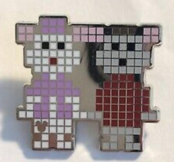Bernard and Bianca - Hidden Mickey Pixels pin