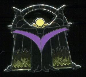 Maleficent - Mystery Handbags pin