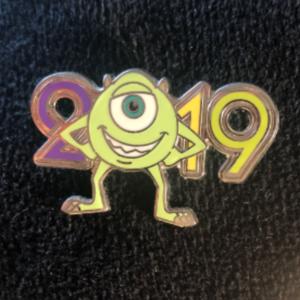 2019 Mike Wazowski  pin