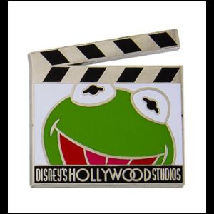 Kermit clapper board pin