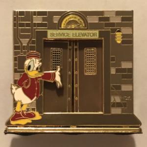 Mickey's Pin Odyssey 2008 - Tower of Terror 3D Diorama pin