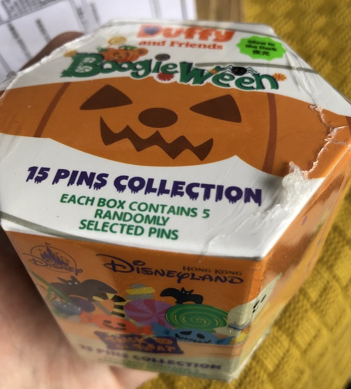 Boogieween mystery pins