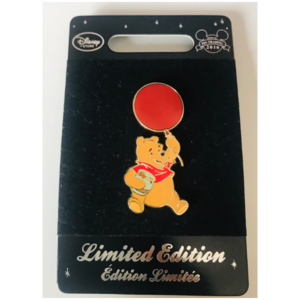 Winnie the Pooh - Red Balloon  pin