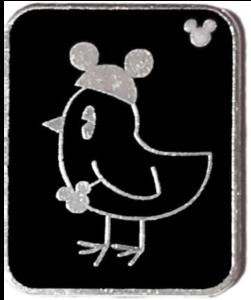 Bird - Hidden Mickey Mouse Ear Pets pin