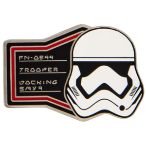 Trooper - First Order Booster Pin Set – Star Wars: Galaxy's Edge pin