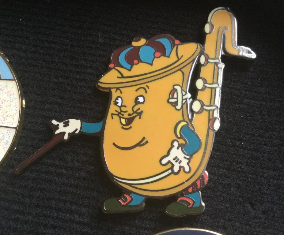 Silly symphony king of jazz pin