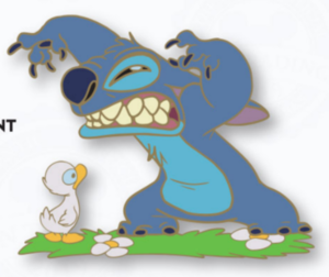 Today I Feel...Mean - Stitch pin