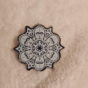 Star Wars C3P0 Snowflake pin