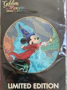 Fantasia Mickey - Golden Magic pin