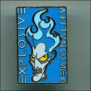 Hades - Explosive Personality pin
