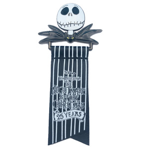 Jack Skellington Ribbon - Disney Store Japan pin