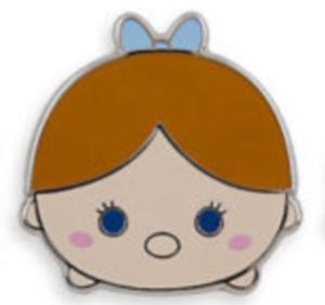Wendy Darling Tsum Tsum pin