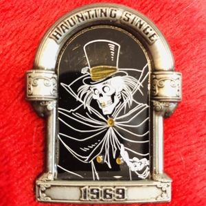 Hatbox Ghost Haunting since 1969 pin