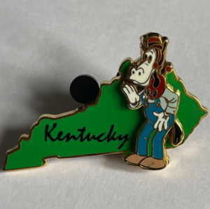 Kentucky - State Characters pin