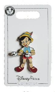 Pinocchio Marionette Action pin