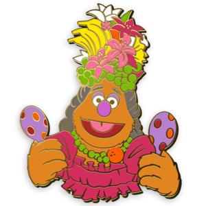 D23 Exclusive Fozzie Pin – Muppet Treasure Island 25th Anniversary pin