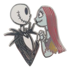 Jack and Sally loving gaze - Disneyland Paris pin