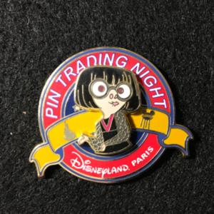 DLP Pin Trading Night Edna Mode pin