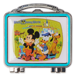 Mickey Mouse and Friends Lunchbox - Walt Disney World 50th Anniversary pin