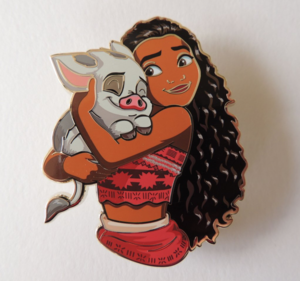 Artland Princess and Friends Moana and Pua pin