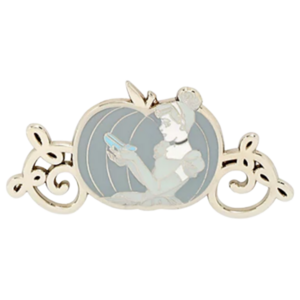Cinderella - Loungefly Disney Princesses Grayscale Moments Mystery Box pin