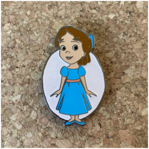 HKDL - Wendy Darling from 2019 Character Mystery Pin Collection pin
