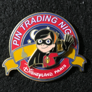 DLP Pin Trading Night Violet Parr pin