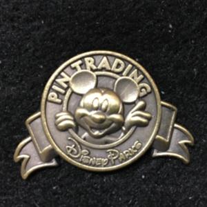 Disney Parks Pin Trading Logo Mickey  pin