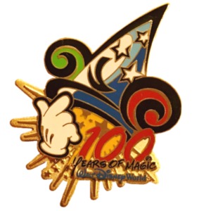 100 Years of Magic - Sorcerer Yen Sid's Hat pin